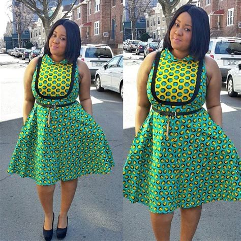 Kitenge Dresses for Young Girls 18 Cute Kitenge Ankara Dress
