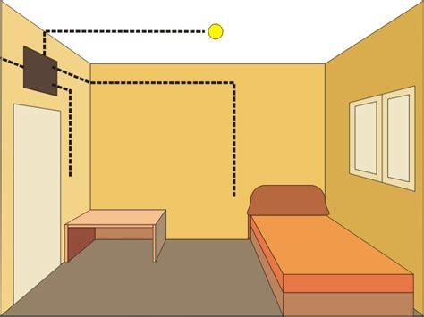 habitacion 3d cableado de modelos en 3d sistemas electronicos