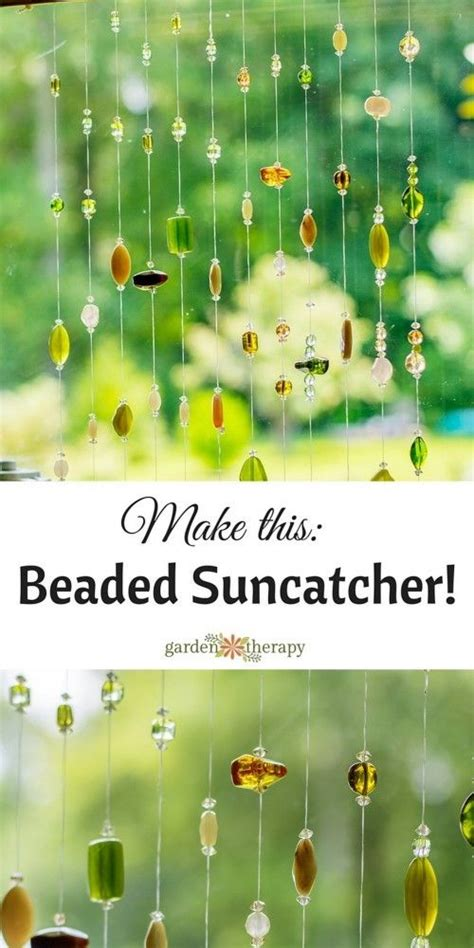 how to make beaded suncatchers window sun and living rooms on