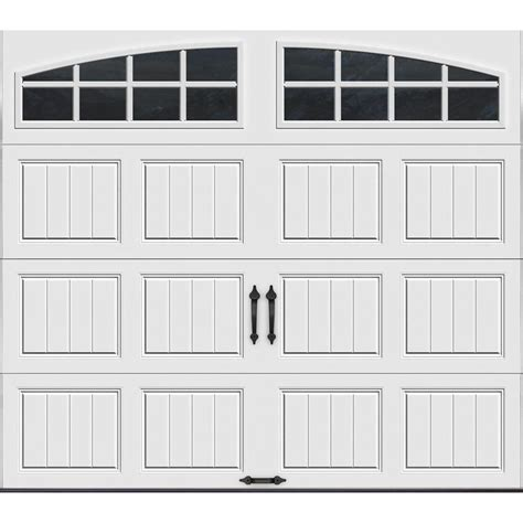 8 X 7 Insulated Garage Door by Clopay Gallery Collection 8 Ft X 7 Ft 6 5 R Value
