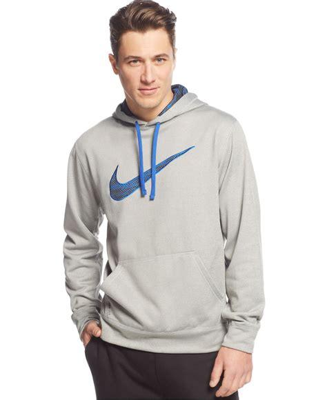 Jacket Hoodie Swoosh Nike Simple nike ko camo printed swoosh hoodie in gray for lyst