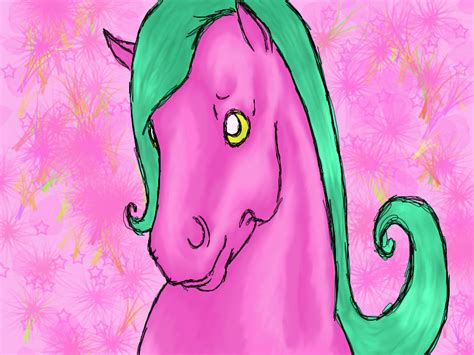 Pink Pony pretty pink pony frustration by leaftail on deviantart