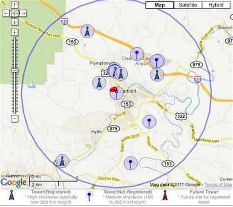 cell tower map sprint cell phone tower locations map verizon tower signal strength map elsavadorla
