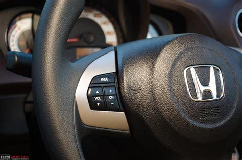 honda brio automatic gear system honda brio automatic official review team bhp