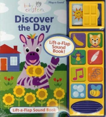 Baby Einstein Lift Flap Soundbook baby einstein discover the day publications international