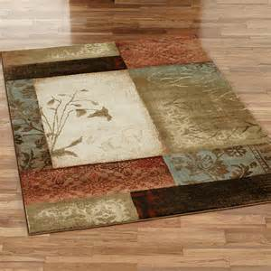 impression leaf area rugs
