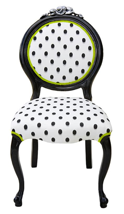 Polka Dot Armchair by Polka Dot Background On