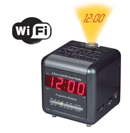 jrs spy store – wi fi alarm clock radio covert camera