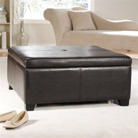 faux leather ottoman coffee table faux leather ottoman coffee table coffee table design ideas