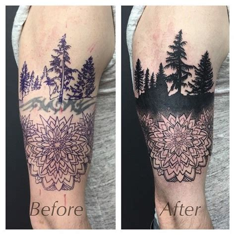 forest silhouette tattoo 17 best images about tattoos tattoos tattoos on