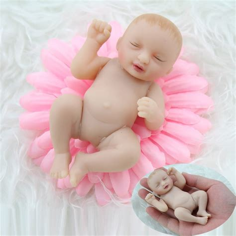 Boneka Bayi Baby desain terbaru vinyl 4 inch boneka bayi telapak tangan boneka mainan kecil vinyl reborn baby