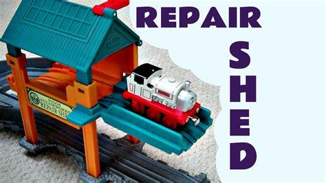 Sodor Steamworks Repair Shed by Take N Play Sodor Steamworks Repair Shed The Tank
