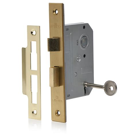 Lock Door by Wilko Door Lock 3 Lever Mortice 65mm At Wilko