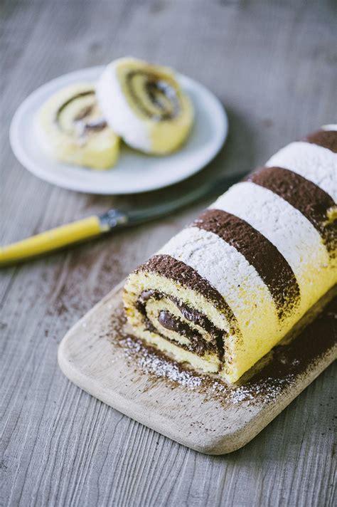 decorare rotolo dolce rotolo alla nutella la ricetta di sonia peronaci
