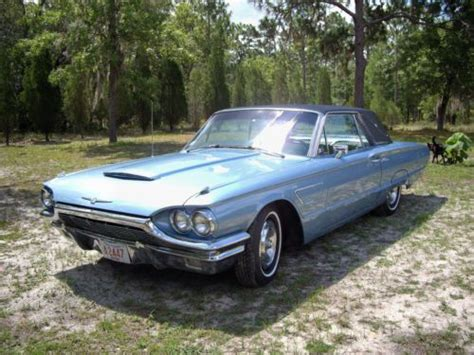electric and cars manual 1965 ford thunderbird engine control sell used 1965 ford thunderbird landau package brittany blue in excellent condition in