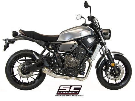 Motorrad Auspuffanlagen Gebraucht by Yamaha Xsr700 Exhaust Sc Project