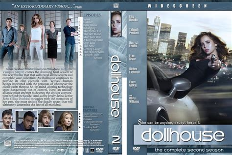 dollhouse 3 season dollhouse season 1 tv dvd custom covers dollhouse