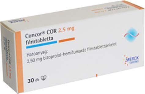 Concor 2 5mg Bisorpolol 2 5mg concor cor am 2 5mg 10 tablets each store