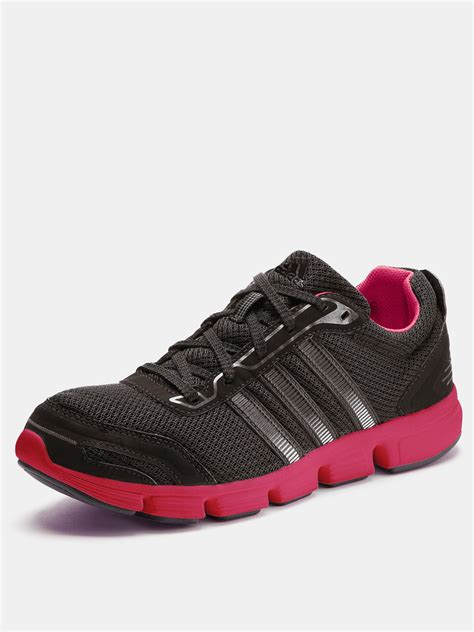adidas running shoes in pink black pink lyst