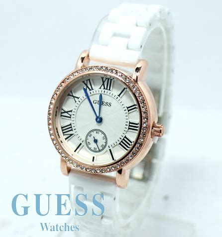 Guess 3chrono White guess ceramic white kucikuci shop jam