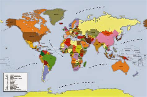 mapa mundo actual mapa europa actual