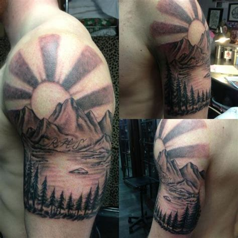 black and grey mountain tattoos pinterest the world s catalog of ideas