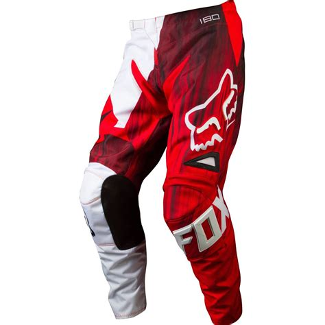fox motocross pants fox mx gear new 2015 180 vandal red youth bmx motocross