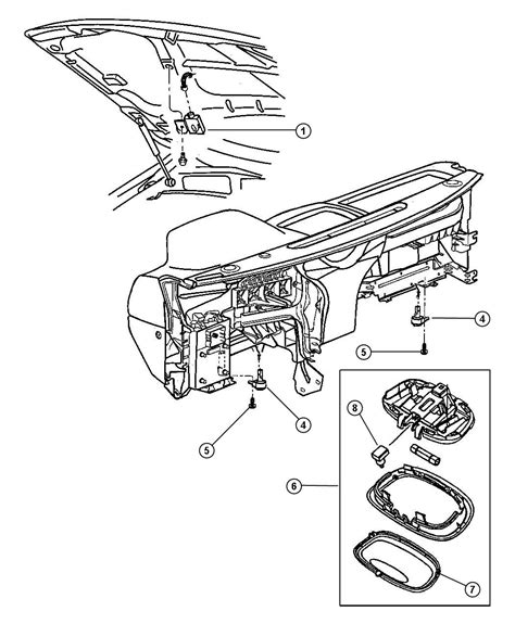 chrysler parts diagram chrysler town and country parts diagram car interior design