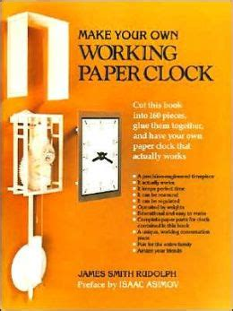 Make Your Own Working Paper Clock - make your own working paper clock by smith rudolph