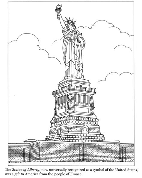 free coloring pages of new york city skyline