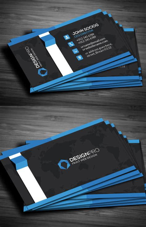 Design Business Cards At Home by Modern Business Cards Design 26 Creative Examples