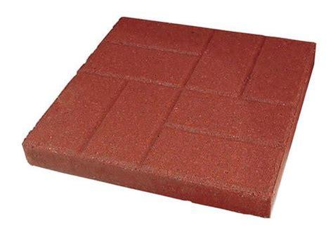 patio blocks menards 12 quot brickface patio block at menards outdoor fum
