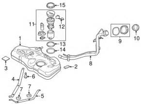 Fuel System Parts Genuine Oem Mazda Fuel System Parts