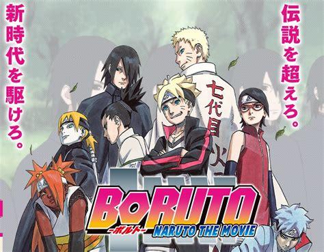 film boruto full boruto naruto the movie sequel and manga confirmed for
