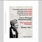 Maya Angelou Phenomenal Woman | 570 x 570 jpeg 62kB