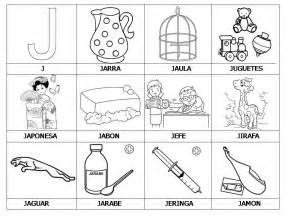 imagenes animadas que empiecen con la letra j cosas con o para colorear imagui