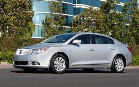 2012 buick lacrosse with eassist technology front view