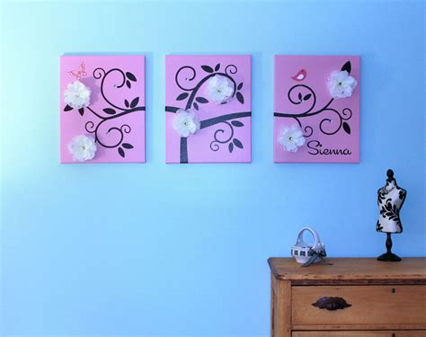 Artsy Bedrooms one hip sticker chic wall art that grows with inkjet