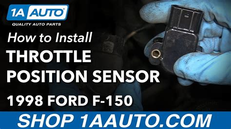 how to install tps how to install replace throttle position sensor 1997 03
