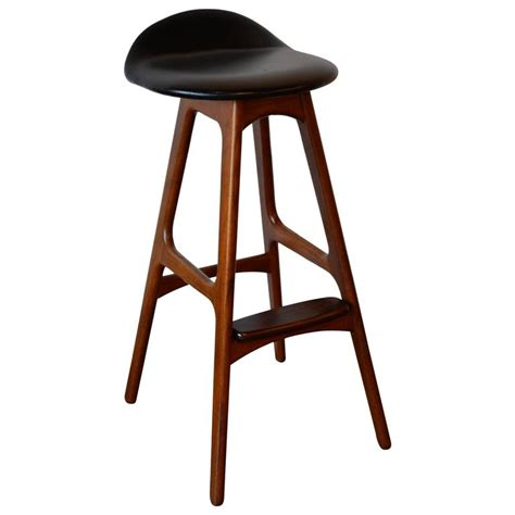 Erik Buch Bar Stool erik buch teak and rosewood bar stool denmark circa