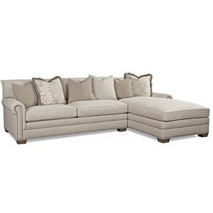 huntington house sectional huntington house 7107 traditional sectional sofa with
