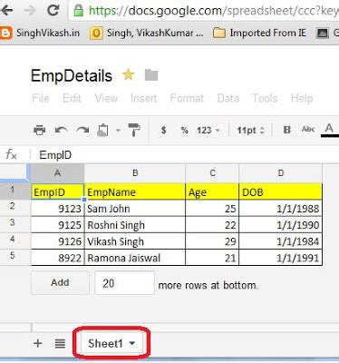 Spreadsheet Api by Singh Vikash Spreadsheet Api With Net How To
