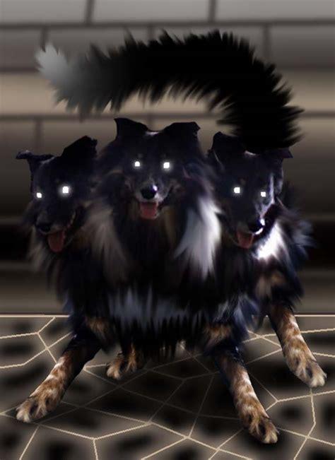 my three dogs my three headed by gngtnt105 on deviantart