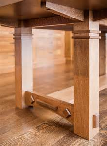 gorgeous white oak dining room table enhances this craftsman style dining room furniture best dining room