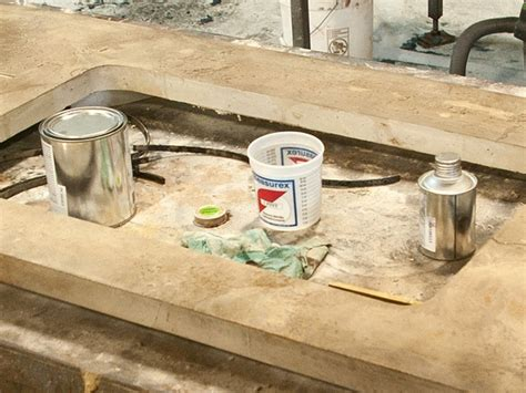 Sealing A Concrete Countertop by Simulated Concrete Countertop Cheng Concrete Exchange
