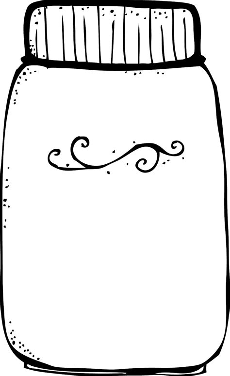how to color jars jar clipart coloring page pencil and in color jar