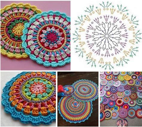imagenes de mandalas tejidos al crochet mandalas a crochet patrones