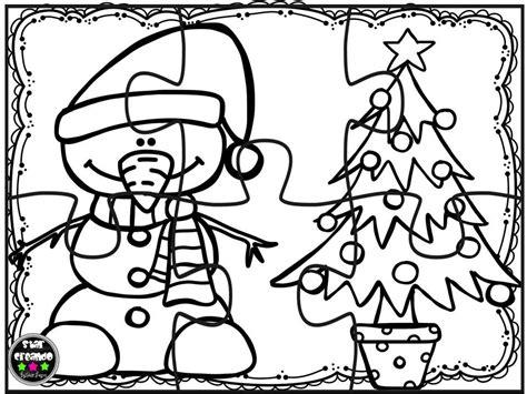 imagenes de navidad para colorear y armar puzzles navidad para colorear 9 imagenes educativas
