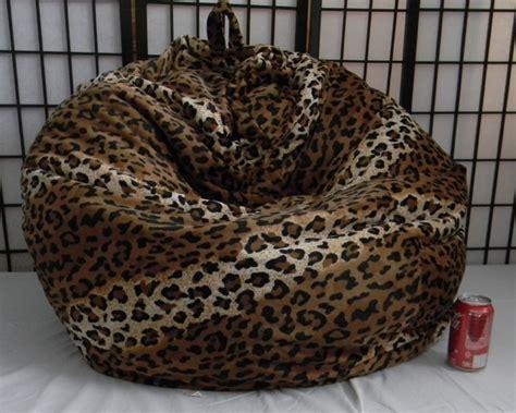 leopard skin bean bag cheetah skin bean bag chair not but soft