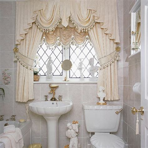 Bathroom Valance Ideas Modern Bathroom Window Curtains Ideas